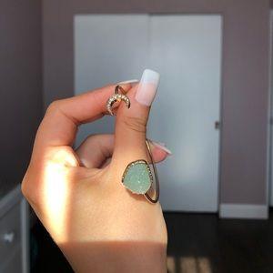Moon cuff bracelet